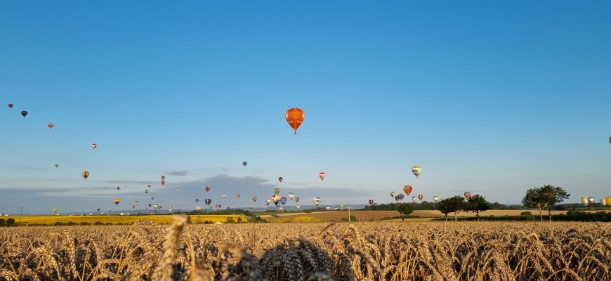 Gran Est Mondial Air Ballons a Chambley